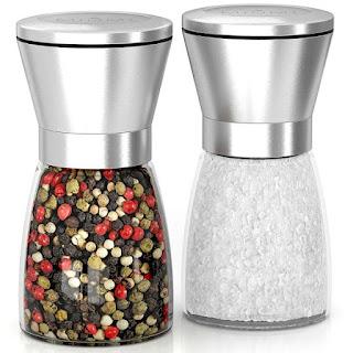Salt and Pepper Grinder Set