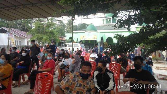 Warga Eka Jaya Kota Jambi Antusis Ikut Vaksin