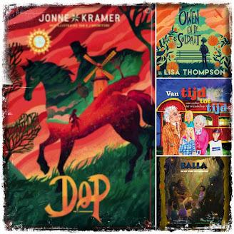 Jonne Kramer, Dop, Lisa Thompson, Owen en de soldaat, Billy Bones, Jeroen van Rijt, Van tijd tot tijd, Boekscout, Leontine van Hooft, Balla en het woud der legenden, GreenDreamWorks