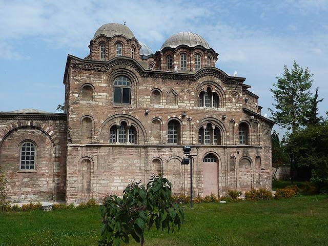 Αποτέλεσμα εικόνας για μονη παμμακαριστου κωνσταντινουπολη