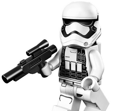 Star Wars: The Force Awakens First Order Jakku Stormtrooper Polybag Promo Mini Figure by LEGO