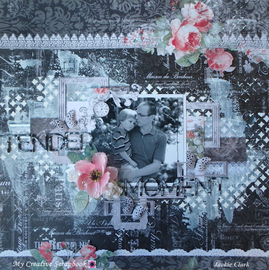 Tender Moment *** My Creative Scrapbook LE Kit ***