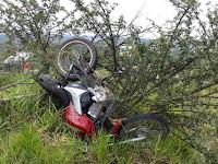 Bandidos sofrem acidente