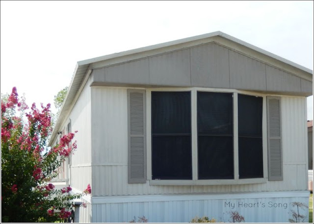 You May Notice That We Now Have Shutters On All The Windows. We Were  Thrilled To Find The Extras At Habitat For Humanityu0027s ReStore Shop.