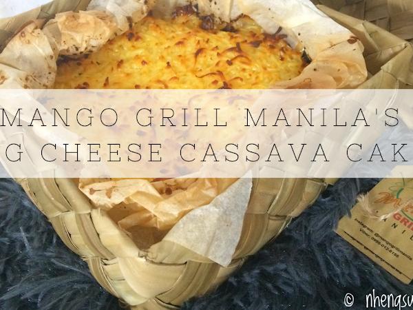 Mango Grill Manila's Big Cheese Cassava Cake