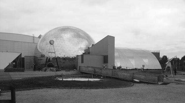 Heurekan takapihalla Galilei tiedepuisto