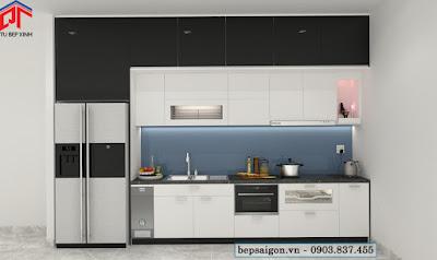 tu bep, tủ bếp, tủ bếp hiện đại, tủ bếp chữ i