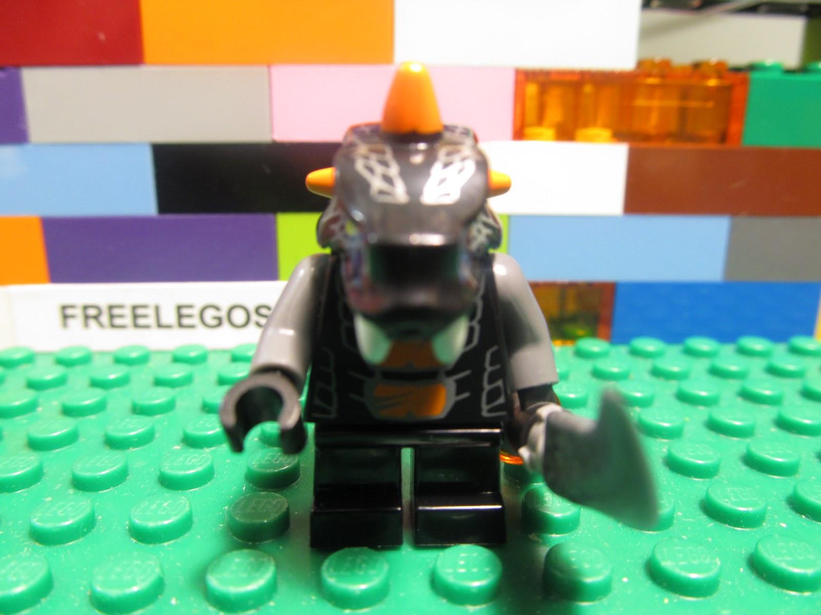 Lego Ninjago Villain BYTAR minifigure spinjitzu snake ...