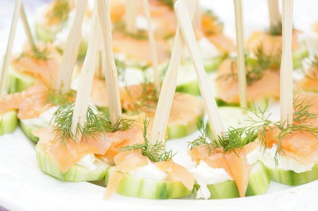 Gurkenfingerfood