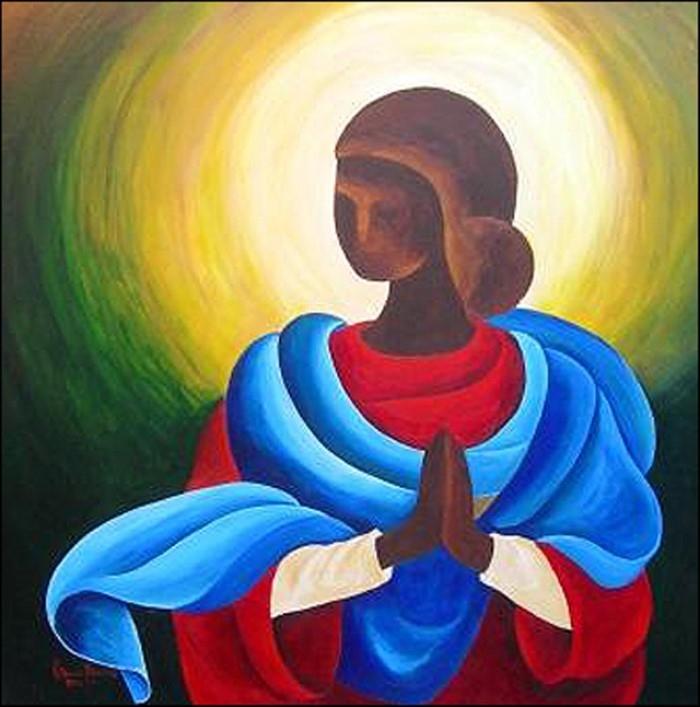 Гаитянский художник. Patricia Brintle