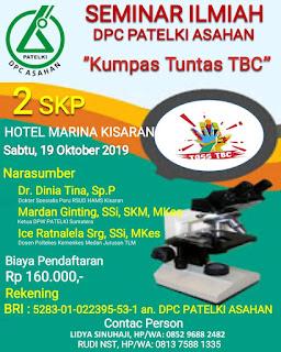 Seminar Ilmiah DPC PATELKI Asahan 2019 | Kupas Tuntas TBC