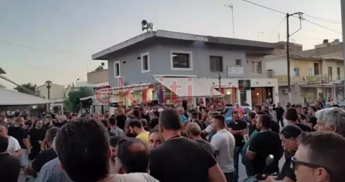 Ξεσηκώθηκαν οι Κρητικοί για τους λαθρομετανάστες – Άγρια επεισόδια στο Τυμπάκι (Βίντεο)