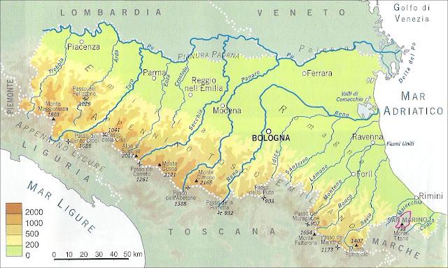 Cartina Fisica Emilia Romagna.Chi Viaggia Impara Immagini Dal Mondo Italia Emilia Romagna