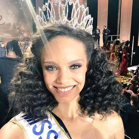 critical beauty miss france 2017 is from french guiana. Black Bedroom Furniture Sets. Home Design Ideas