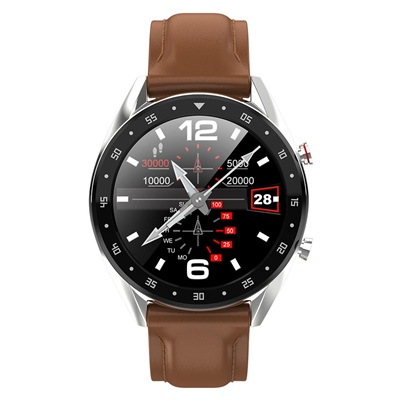 Microwear L7: smartwatch de 1.3'' con monitores de salud y Bluetooth integrado