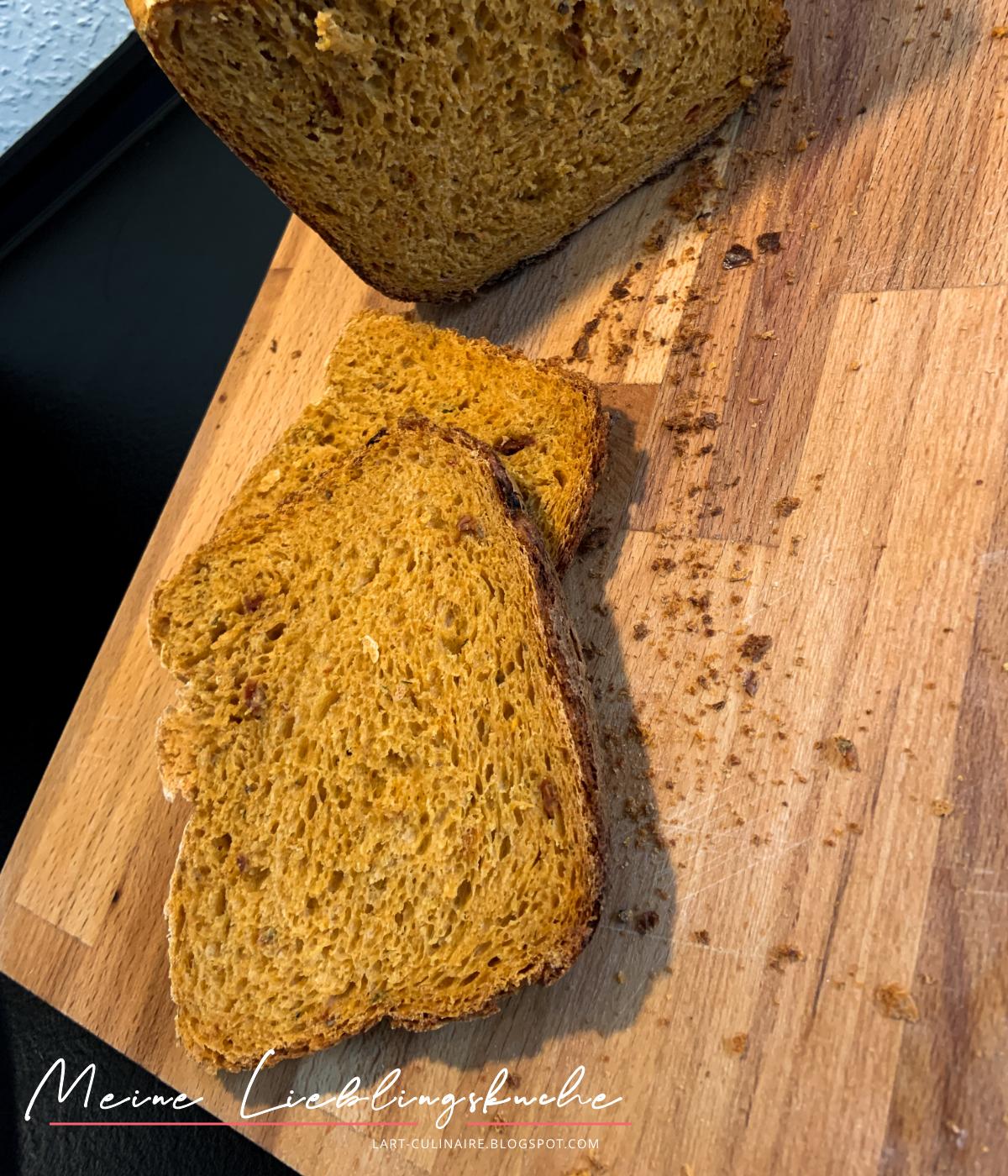 Tomaten-Brot - ideal für jede Party