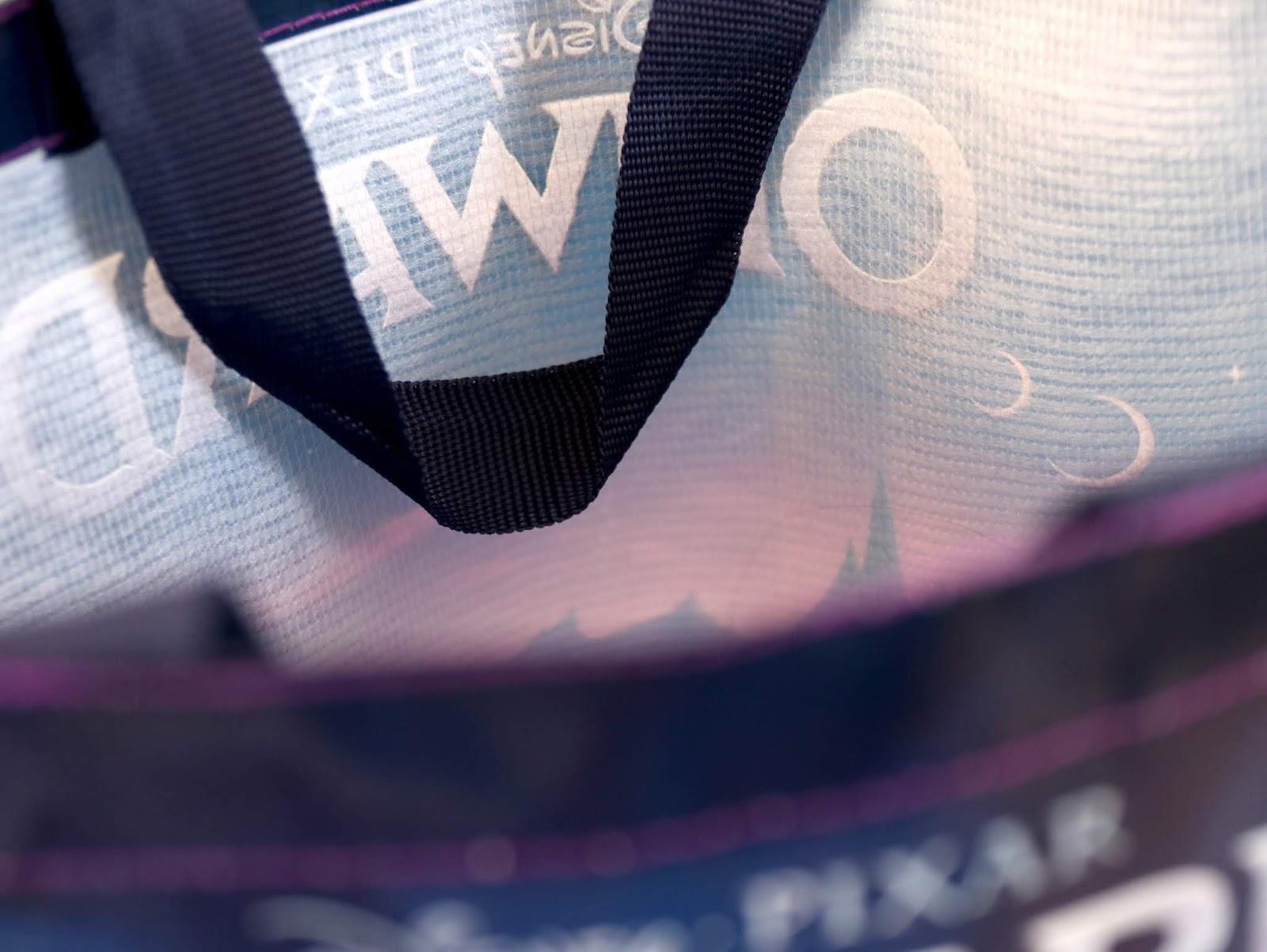 Onward Disney Store Reusable Tote Bag