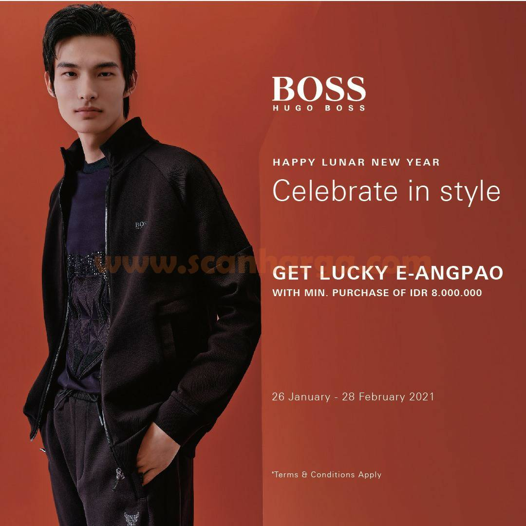 HUGO BOSS Promo Lunar New Year! Get Lucky E-Angpao