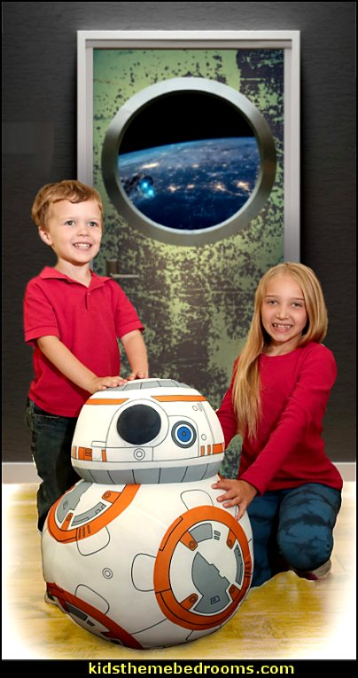 Spaceship Door Decal Plush Star Wars BB-8 Plush