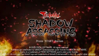 download Game Tenchu Shadow Assassins ISO HighCompress