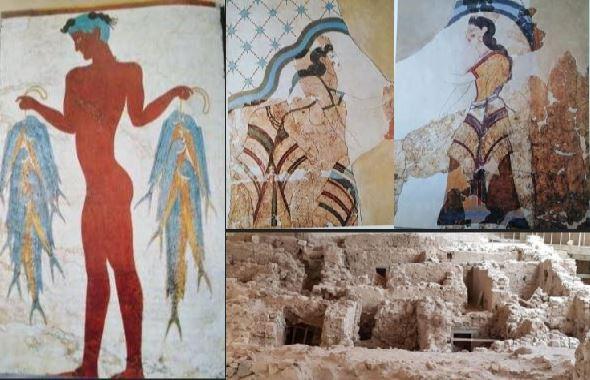Akrotiri Mosaic Work