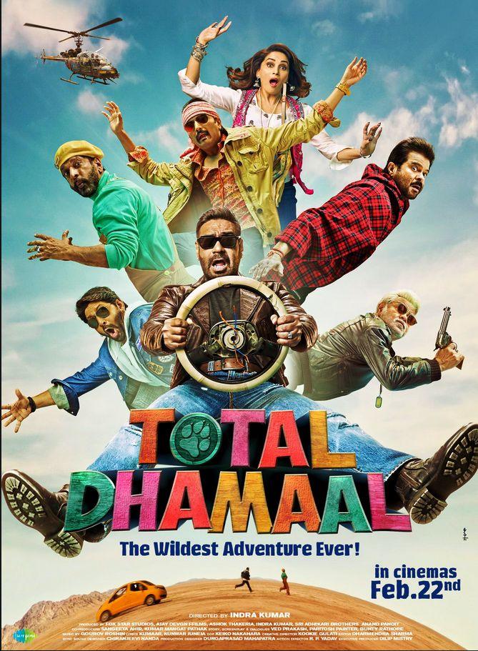 Total Dhamaal (2019) Update Print Audio Clean Hindi 720p Desi Pre Rip x264 AAC Download (Best Print)