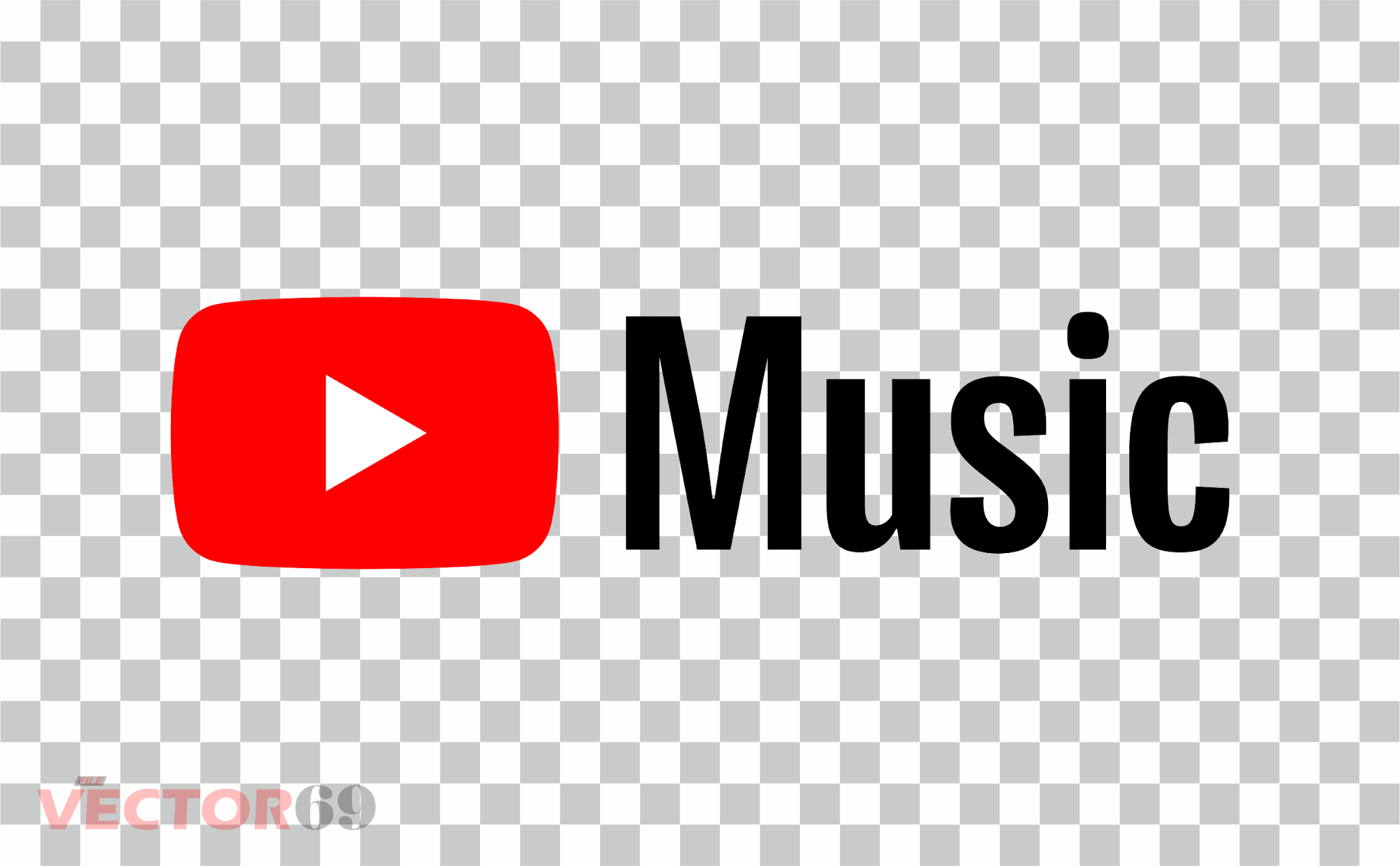 Youtube Music Logo - Download Vector File PNG (Portable Network Graphics)