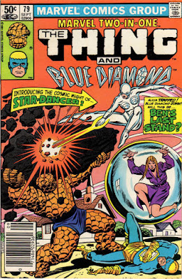 Marvel Two-In-One #79, The Thing and Blue Diamond