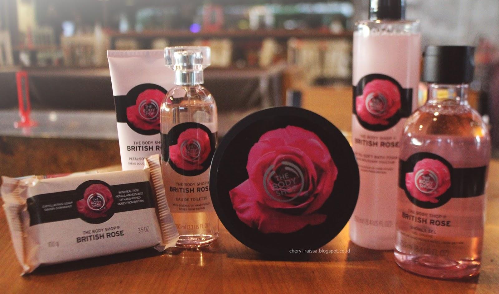 British Rose Body Care By The Shop Cheryl Raissa Paket Lotion Dan Shower Gel