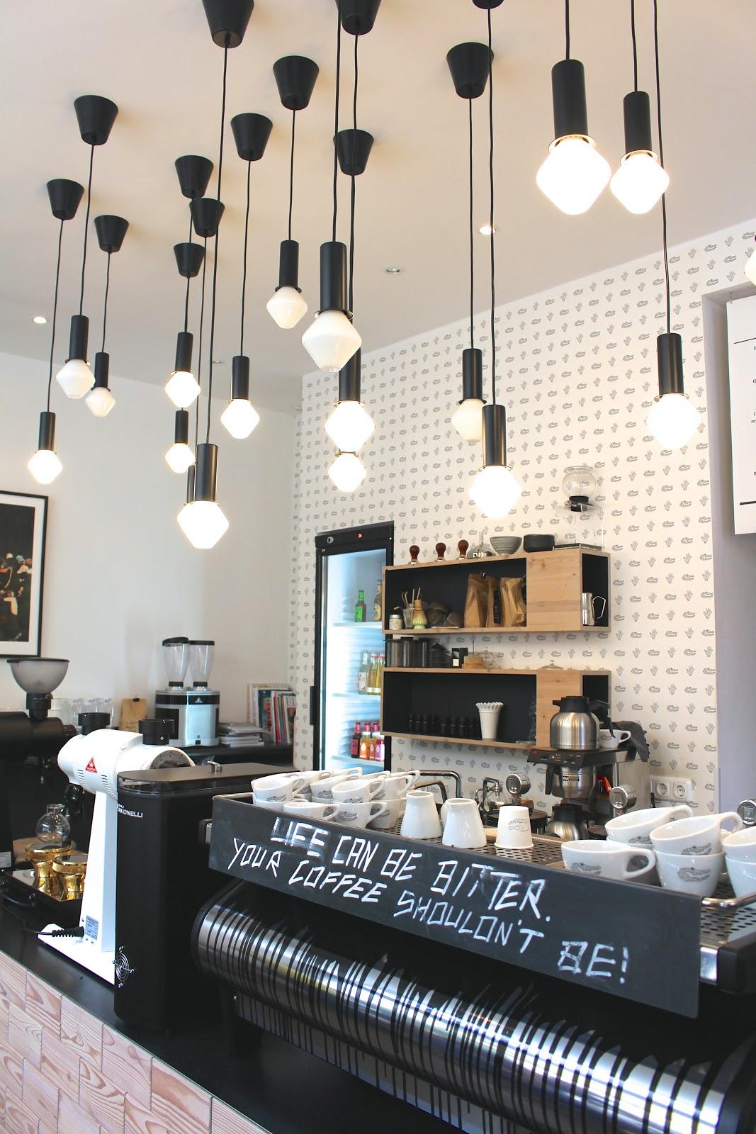 Man Versus Machine coffee Munich interior