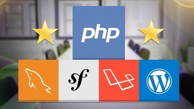 Master en PHP, SQL, POO, MVC, Laravel, Symfony 4, WordPress+