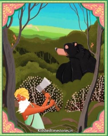 THE BEAR'S BAD BARGAIN - Free 2min Bedtime Story for Kids | Kidsbedtimestories