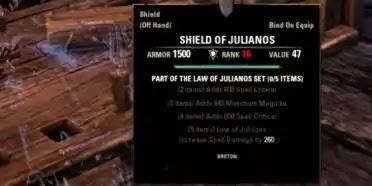 Elder Scrolls Online,Best PVE Magicka Crafted Set - Law Of Julianos,