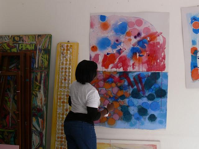 Making Abstract by Miabo Enyadike