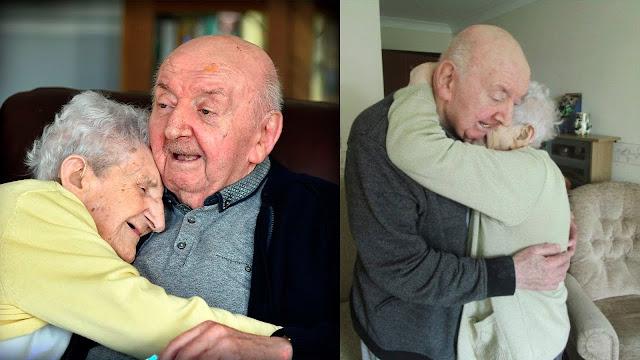 Мама навсегда: 98-летняя старушка переехала в дом пристарелых, чтобы ухаживать за 80-летним сыном