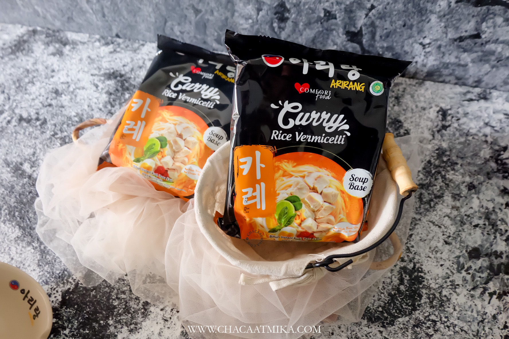 Review Arirang Curry Rice Vermicelli