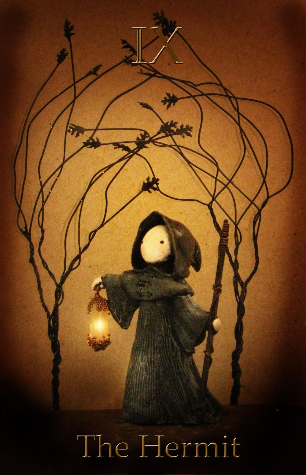 The Hermit Tarot Card Meaning In Readings Isolation: Lisa Snellings: The Hermit