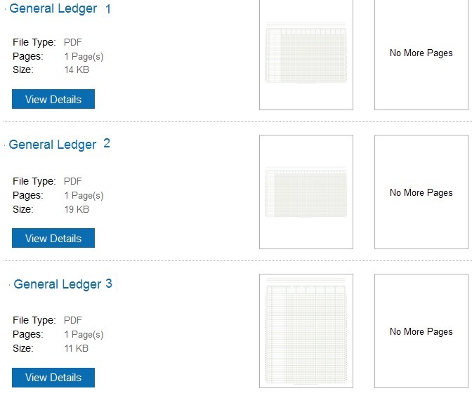 Download General Ledger Templates in excel format xlsx Free – General Ledger Form