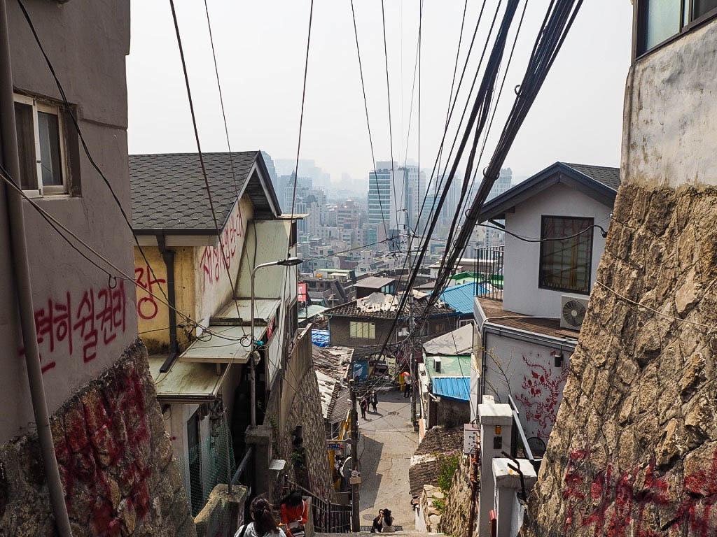 Ihwa Mural Village, Seoul