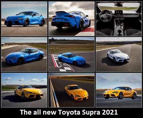 The all new Toyota Supra 2021