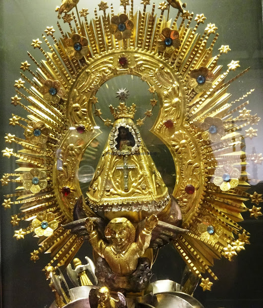 'Gold of the Gods (with apologies to Erich Von Deniken)....A visit to the Gold Section of the Museum at San Jose', Costa Rica, Central America' by KJS Chatrath