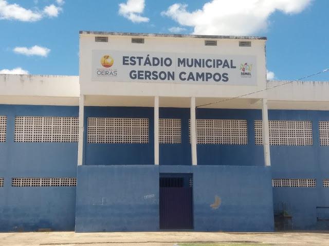 FPF fará vistoria no estádio Gerson Campos em Oeiras Piauí