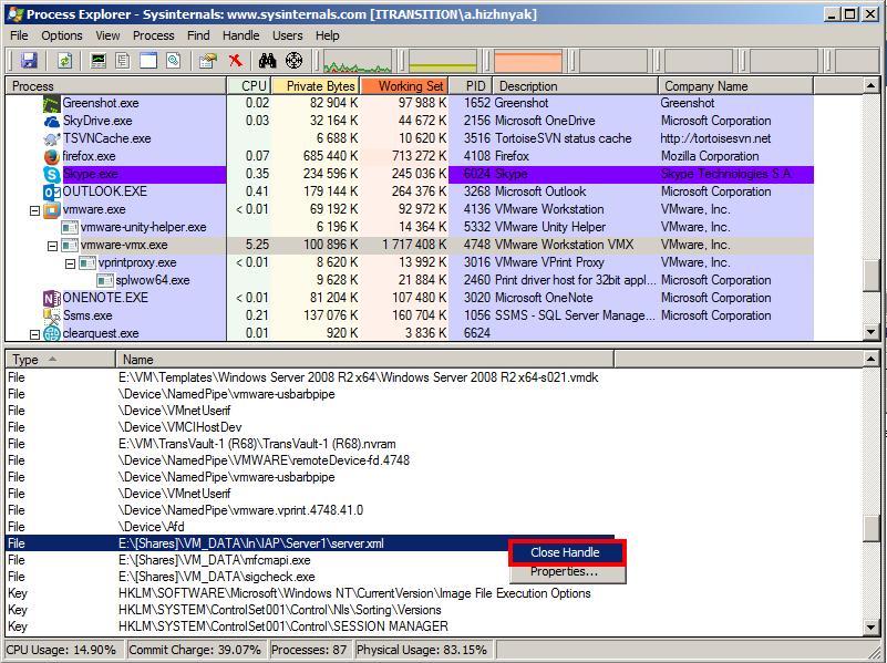 Ubeogesh's things: Unlock files and folders using Process