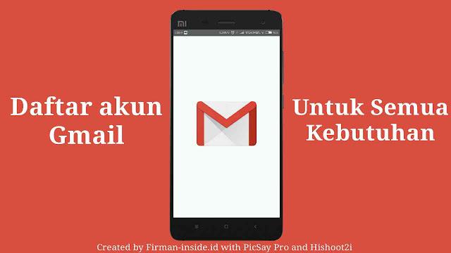 Metode Terbaru Daftar Akun Gmail Secara Mudah dan Gratis