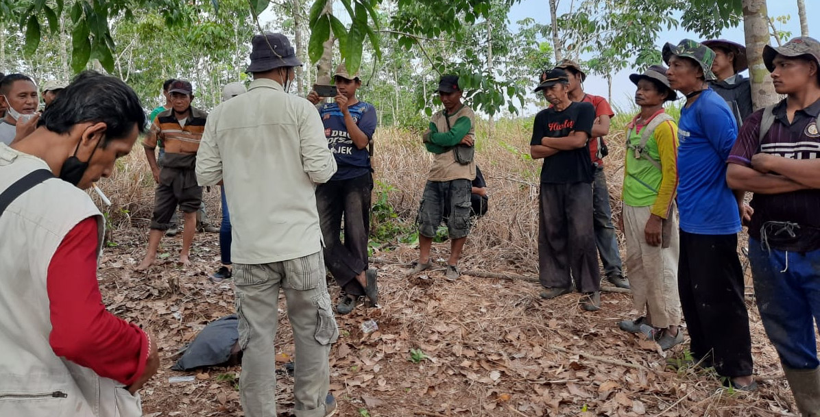 Terkait Konflik Lahan di Gunungsangkaran, Kadisbun Waykanan : Itu Kewenangan Provinsi