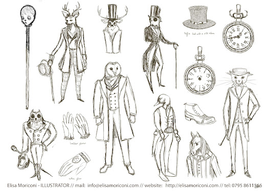 Ghost Sonata - characters exploration