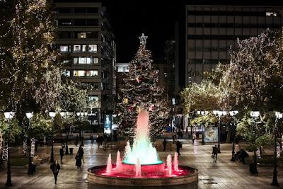 Φωταγώγηση του Δέντρου της Πλατείας Συντάγματος - Χριστούγεννα στην Αθήνα 2020