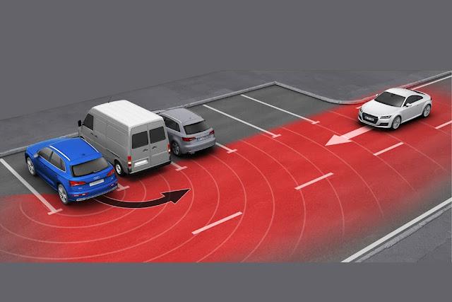 teknologi Rear Cross-Traffic Alert