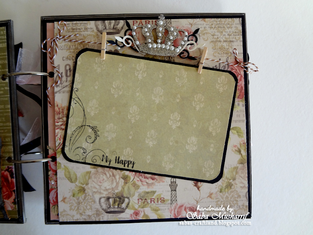 Blue Fern Studios, Dove Craft Sweet Paris