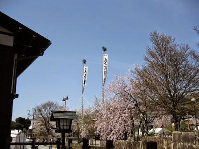 飛騨市古川町の町並みと風景